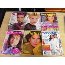 Lote Com 20 Revistas Criativa Moda Moldes Manequim