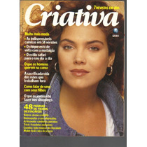 Revista Criativa Nº 4- Ano 1 - Agosto/1989 - Ed Globo