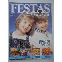 Festas Faça Fácil #jan 1996 Encantos Do Fundo Do Mar Moldes