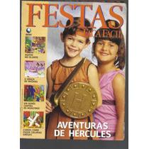 Festas Faça Fácil Nº 151-aventuras De Hércules-ed Globo