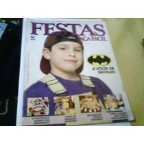 Revista Festas Faça Fácil N°115 Capa A Volta De Batman