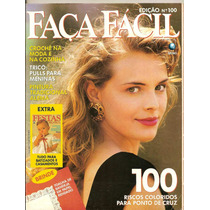 Revista Faça Fácil - Ed.100 Riscos Coloridos Para Ponto De..