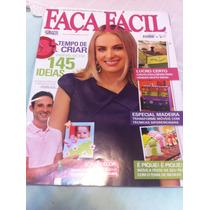 Revista Faça Fácil Capa Angelica Apresentadora De Tv. Globo.