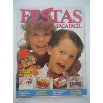 Festas Faça Fácil #83 Ano 1991 Turma Do Chaves - Com Moldes