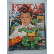 Festas Faça Fácil #75 Tartarugas Ninja - Com Os Moldes