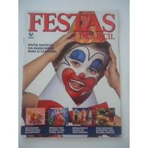 Festas Faça Fácil #85 Ano 1992 Fantasia Maquiagem Carnaval
