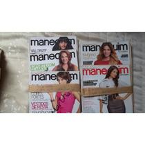 Kit Com 5 Revistas Manequim 2007/2008 Com Moldes