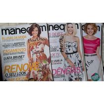 Trio De Revistas Manequim Agosto/setembro E Outubro /2010