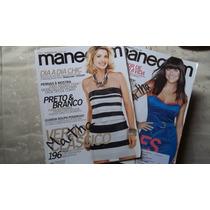 Duo De Revistas Manequim Janeiro/fevereiro /2010 Com Moldes