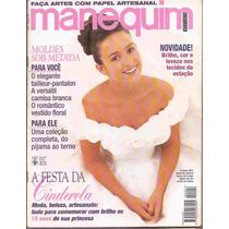 Manequim Nº 424 Abril 95 Festa Capa Gabriela Duarte