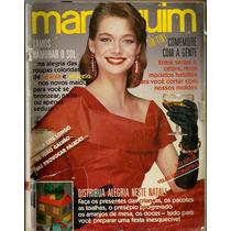 404 Rvt- 1986 Revista Manequim- 324 Dez- Laura Wiederspahn