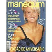 413 Rvt- 1994 Revista Manequim- 416 Ago- Xuxa- Moda