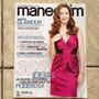 Revista Manequim 610 Maio 2010 Camila Morgado - Com Moldes