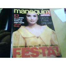 Revista Manequim Especial Festas N°407-a