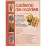 Caderno De Moldes Manequim - Ed.499 Julho 2001