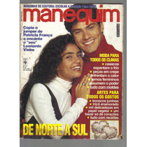 Revista Manequim Nº 402 - Junho/1993 - Ed Abril