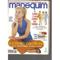 Revista Manequim Ed. 442-nº 10-ano 37-out/1996-ed Abril