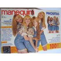 Revista Manequim Jan 91 Paquitas Da Xuxa Fábio Junior O Show