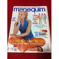 Revista Manequim Angelica Estrela Da Tv Musa Mãe Mulher Gata