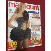 Revista Manequim Angelica Musa Com Moldes Receitas De Natal