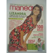 Manequim #374 Ano 1991 Lizandra Souto - Explicações E Molde