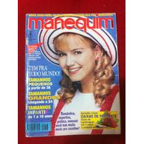 Revista Manequim Capa Eliana Gata Tamanho Grande Com Moldes