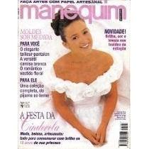 Manequim 424 - Abril 1995 Gabriela Duarte - Festa Cinderela