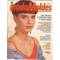 Moda Moldes Nº 51 Com Moldes Capa E Foto Lidia Brondi
