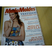 Revista Moda Moldes Nº11 Luiza Valderato Editora On Line