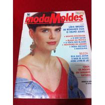 Revista Moda Moldes Rara Lidia Brondi Gata Atriz Da Globo