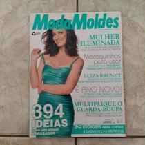Revista Moda Moldes Luiza Brunet No. 8 Com Moldes Completa