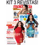 Kit Revistas Moldes E Cia Moda Plus Size - Roupa Costura