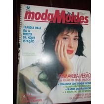 Moda Moldes - Claudia Raia - Setembro 1990