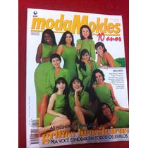 Revista Moda Moldes Luiza B Isabel F Lilia Patricia C Moldes