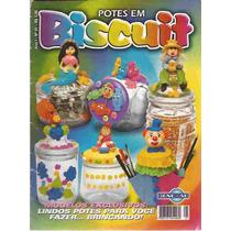 Artesanato - Potes Em Biscuit Nº 01