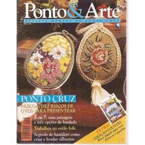 Artesanato - Ponto & Arte Nº 8 Ponto Cruz Com Risco
