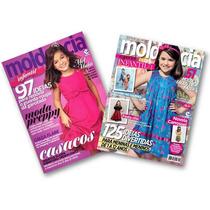 Kit 2 Revista Molde E Cia Moda Infantil - Corte E Costura