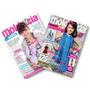Kit 2 Revista Molde E Cia - Moda Infantil Corte E Costura