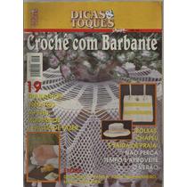 565 Rvt- Revista Artes- Dicas E Toques- Crochê Com Barbante
