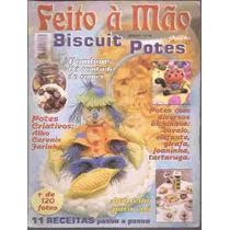 Artesanato - Feito Em Casa Biscuit Potes Nº 02