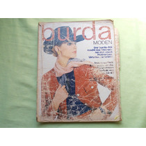 Revista Burda Moden Antiga August 1970