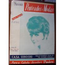 Revista Feminina Moda Penteados Propagandas Anos 60 Antiga