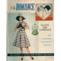 Revista Foto Romance 6 Jul 1960 Fotonovela Olhos Sem Sorriso