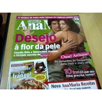 Revista Ana Maria Nº490 Mar06 Claudia Raia Gianecchini