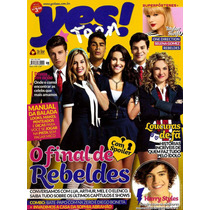 Revista Yes!teen O Final De Rebeldes! = No #58 Rbd Nova!