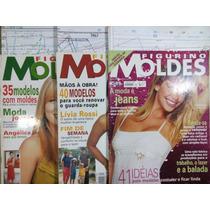 Figurino Moldes Lote Com 3 Revistas