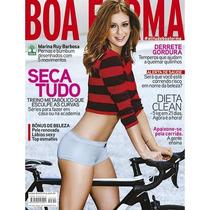 Revista Boa Forma Fevereiro 2015 = Capa Marina Ruy Barbosa