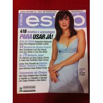 Revista Estilo Claudia Raia Dado Dolabela Vanessa Daniele W
