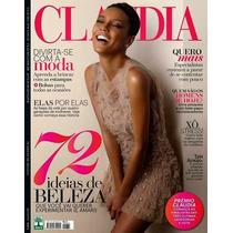 Revista Claudia # 632 Tais Araujo = 2014 Seminova Frete R$ 5