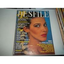 Revista Desfile Nº 124 Jan 1980 Xuxa Moda Verão Frank Sinatr